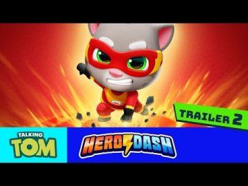 Talking Tom Hero Dash (Official Trailer 2)
